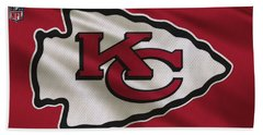 Kansas City Chiefs Uniform Beach Towel