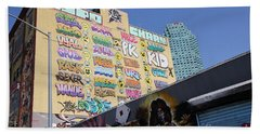 5 Pointz Graffiti Art 2 Beach Sheet