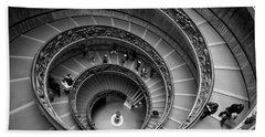 The Vatican Stairs Beach Sheet