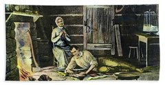 Abraham Lincoln (1809-1865) Beach Towel