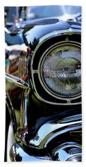 Beach Towel featuring the photograph 50's Chevy by Dean Ferreira