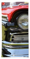 Beach Towel featuring the photograph 50's Ford by Dean Ferreira