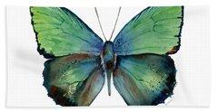 52 Arhopala Aurea Butterfly Beach Towel