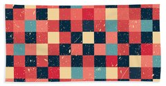 Pixel Art Beach Towel