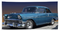 56 Chevy Beach Towel