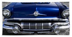 '57 Pontiac Safari Starchief Beach Towel