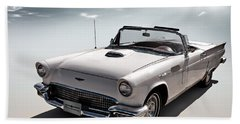 57 T-bird Beach Towel by Douglas Pittman