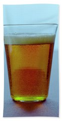 A Glass Of Beer Beach Towel