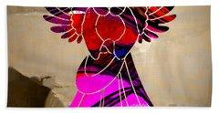 Angel Beach Towel by Marvin Blaine
