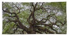 Sc Angel Oak Tree Beach Towel