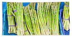 Asparagus Beach Towel by Tom Gowanlock