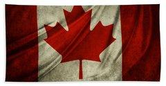 Canadian Flag  Beach Towel