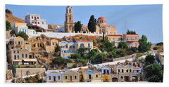 Colorful Symi Beach Sheet