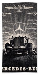 Mercedes - Benz Beach Towel