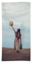 Refugee Girl Beach Towel