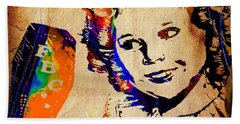 Shirley Temple Collection Beach Towel