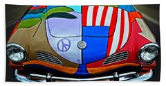 60s Wild Ride Beach Towel