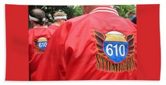 610 Stompers - New Orleans La Beach Towel