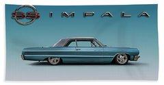 '64 Impala Ss Beach Towel