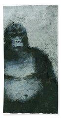650 Mountain Gorillas, 2008 Mixed Media Beach Towel