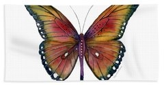 66 Spotted Wing Butterfly Beach Towel