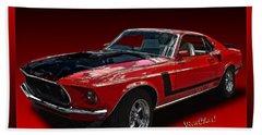 69 Mustang Mach 1 Beach Sheet