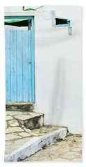 Blue Door Beach Towel