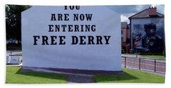 Free Derry Corner Beach Sheet