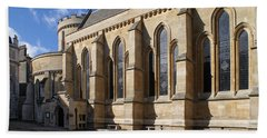 Knights Templar Temple In London Beach Towel by Carol Ailles