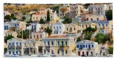 Symi Island Beach Sheet