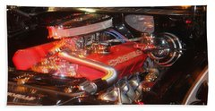 Beach Towel featuring the photograph 71 Chevelle by Tbone Oliver