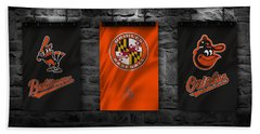 Baltimore Orioles Beach Towel