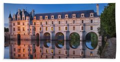 Beach Towel featuring the photograph Chateau Chenonceau by Brian Jannsen