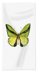 8 Goliath Birdwing Butterfly Beach Towel