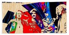 Led Zeppelin Beach Towel by Marvin Blaine