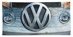 Volkswagen Vw Emblem Beach Towel