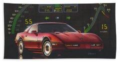 84 Corvette Beach Sheet