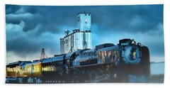 844 Night Train Beach Towel