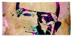 Bono U2 Beach Towel