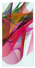 Color Symphony Beach Towel