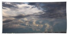 Let The Storm Season Begin Beach Towel