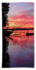 Sunset 9 Beach Towel