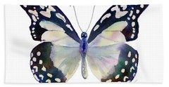 90 Angola White Lady Butterfly Beach Sheet