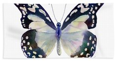 90 Angola White Lady Butterfly Beach Towel