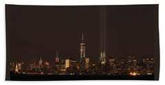 9.11.2014  View From Staten Island Beach Towel