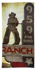 95.9 The Ranch Beach Towel