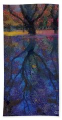 A Beautiful Reflection  Beach Towel