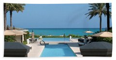 Beach Towel featuring the photograph A Beautiful View by Patti Whitten