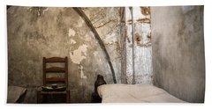 A Cell In La Conciergerie De Paris Beach Sheet by RicardMN Photography