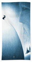 A Christmas Prayer Beach Towel